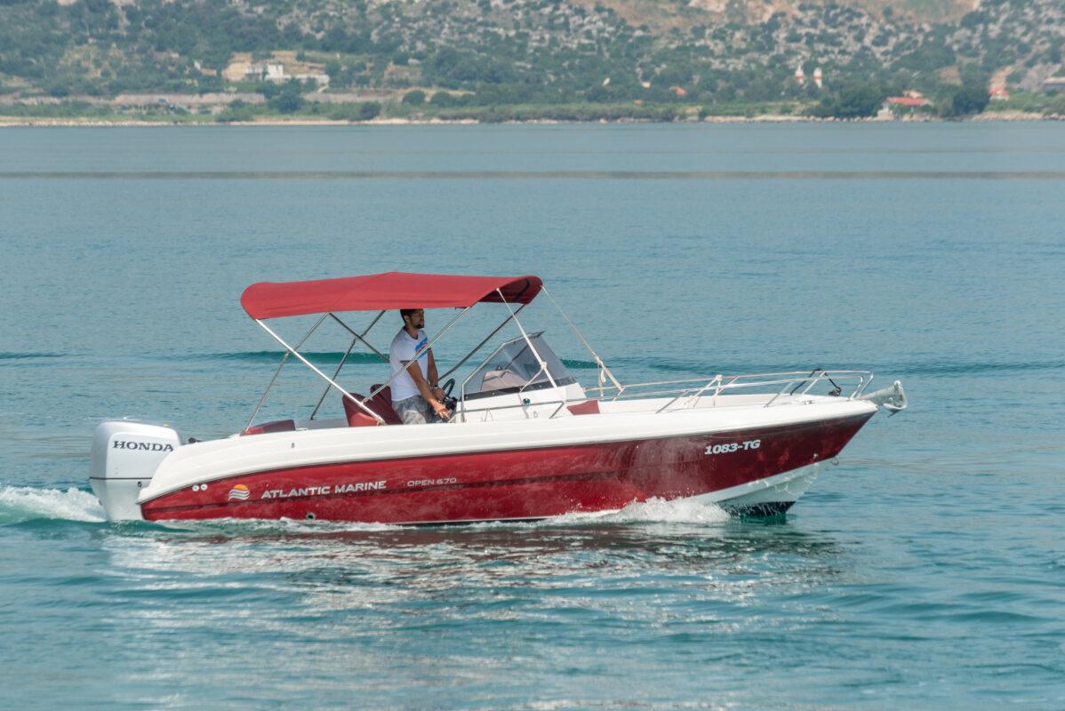 Toto Travel Rent A Boat Atlantic Marine 670 9