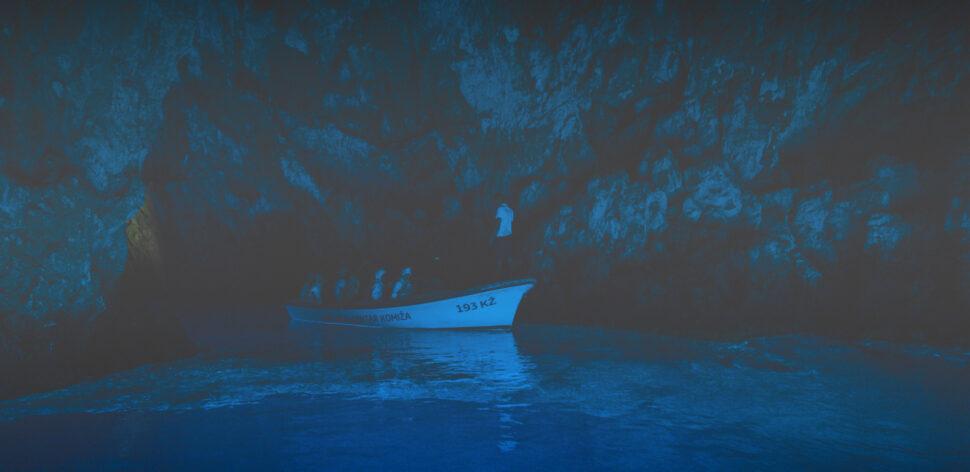 Blue Cave Bisevo Split